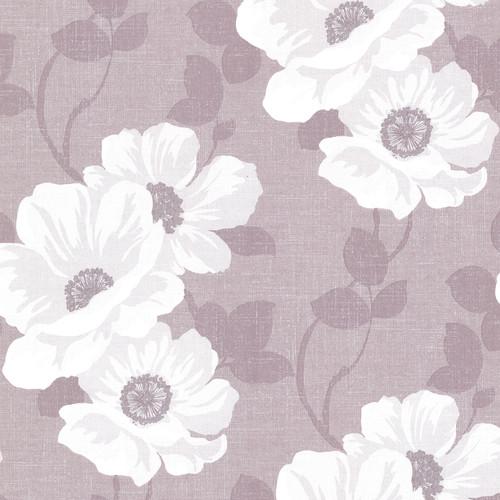Beacon House by Brewster 2614-21053 Leala Lavender Modern Floral Wallpaper