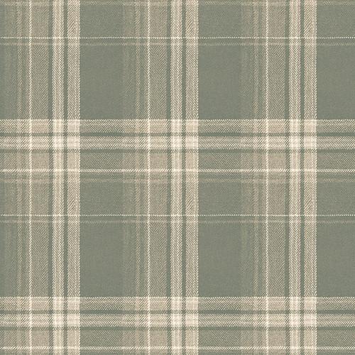 Chesapeake by Brewster 3118-12673 Birch & Sparrow Saranac Sage Flannel Wallpaper