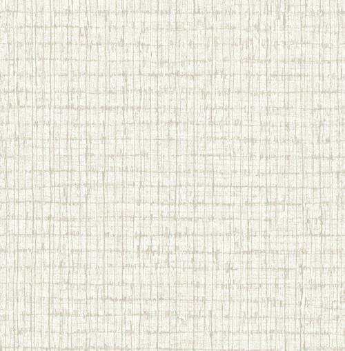 A-Street Prints by Brewster 2785-24852 Linen Palmweave Wallpaper Neutral