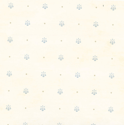 Chesapeake by Brewster HTM49474 Outdoors Polka Cream Pinecone Ditzy Toss Wallpaper
