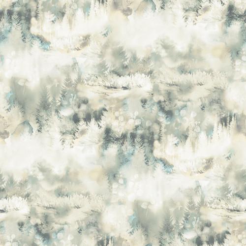 Chesapeake by Brewster 3118-12612 Birch & Sparrow Tamarack Beige Forest Wallpaper