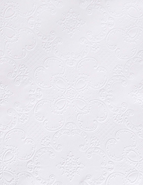 Brewster RD0137 Alfred Paintable Supaglypta Wallpaper white