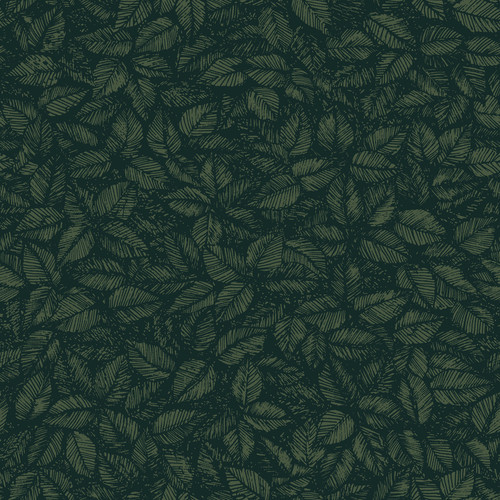 Wall Vision by Brewster WV1771 Scandinavian Designers II Amorina Green Leaf Wallpaper