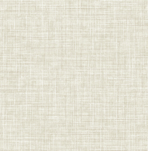 A-Street Prints by Brewster 2793-24273 Poise Beige Linen Wallpaper