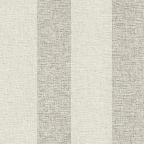 Brewster Advantage Neutral / Black / White 2773-449600 Dash Light Grey Linen Stripe Wallpaper