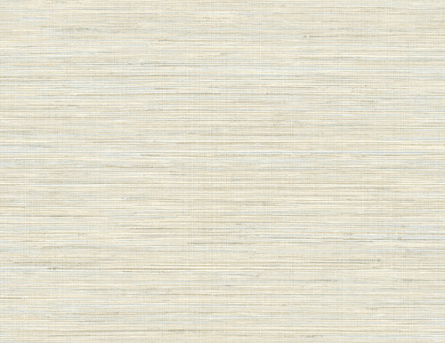 Kenneth James by Brewster PS41505 Palm Springs Baja Grass Blue Texture Wallpaper