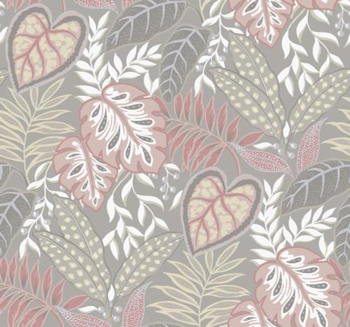 A-Street Prints by Brewster 2785-87420 Petal Jasmine Wallpaper Pink
