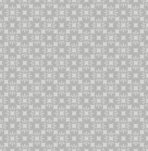 A-Street Prints by Brewster 2716-23830 Eclipse Orbit Grey Floral Wallpaper