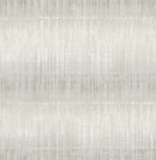 A-Street Prints by Brewster 2656-004046 Sanctuary Light Grey Texture Stripe Wallpaper