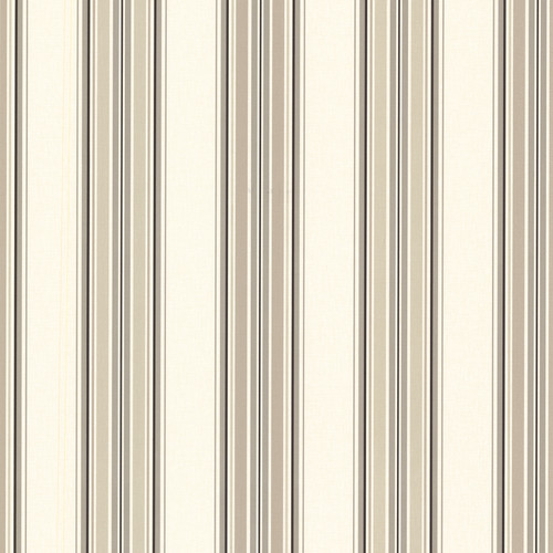 Beacon House by Brewster 2604-21211 Oxford Marine Khaki Sailor Stripe Wallpaper