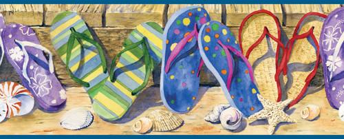 Chesapeake by Brewster BBC05071B Gabby Sand Beach Sandals Portrait Border