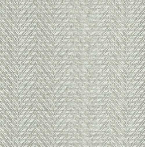 A-Street Prints by Brewster 2785-24818 Fog Ziggity Wallpaper Grey