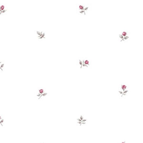 Cavalier Wall Liner RG35720 Rose Buds Wallpaper Pink, Grey