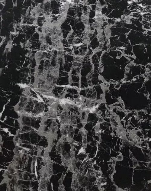 """Black Marble Contact Paper 17.7""""x196"""" GRACE & GARDENIA Self Adhesive Removable"""