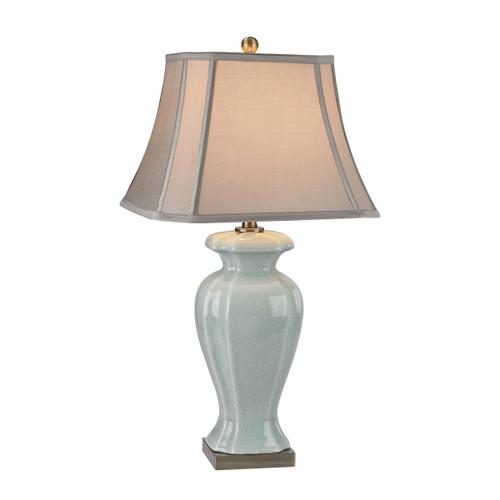Celadon Table Lamp Dimond Lighting by ELK D2632 in Glazed Green Ceramic