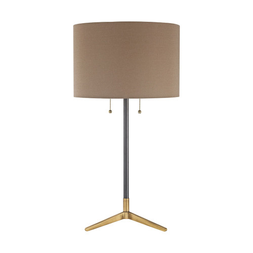 Clubhouse Table Lamp Dimond lighting by ELK D3120 Antique Brass