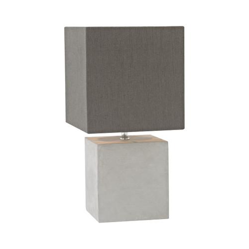Brocke Table Lamp Dimond Lighting ELK D3176 Polished Concrete