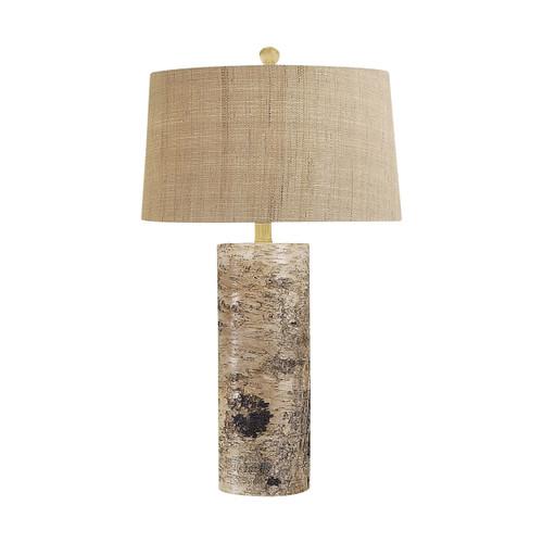 Aspen Bark Table Lamp Dimond lighting by ELK 500 Natural