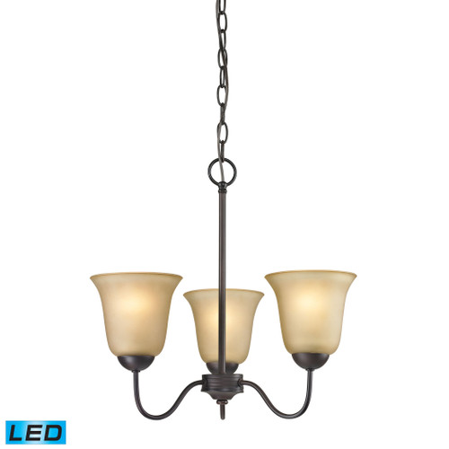3 Light Chandelier by Elk 1203CH/10-LED