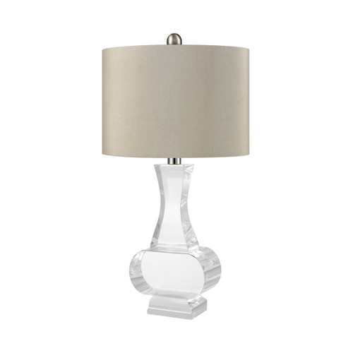 Chalette Table Lamp Dimond Lighting ELK D3365 Clear