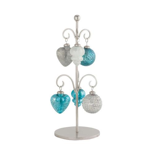 Elk 519727 Pomeroy Glazyer Ornament Stand Antique Blue