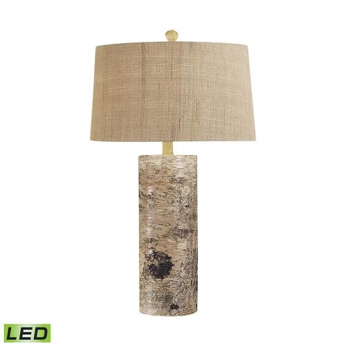 Aspen Bark LED Table Lamp Dimond lighting by ELK 500-LED Natural