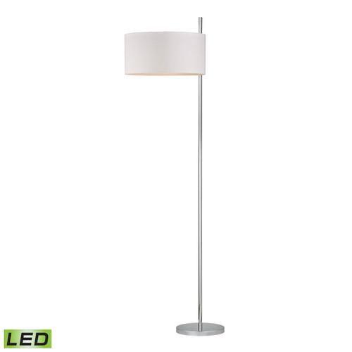 Dimond lighting by Elk D2473-LED Attwood LED Floor Lamp Polished Nickel