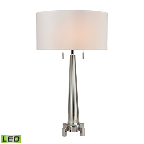 Bedford Solid Crystal LED Table Lamp Dimond Lighting D2681-LED Polished Chrome