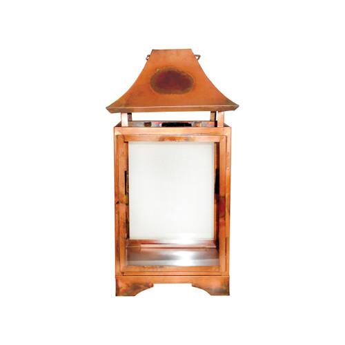 Elk 401367 Pomeroy Bali Lantern Burned Copper