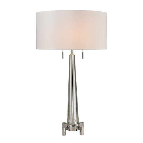 Bedford Solid Crystal Table Lamp Dimond Lighting D2681 in Polished Chrome