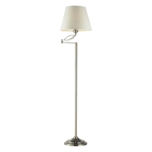 Dimond lighting 17047/1 Elysburg 1 Light Floor Lamp In Satin Nickel