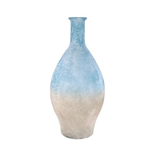 Elk 316043 Pomeroy Medea Vase 23.625In Textured Azure