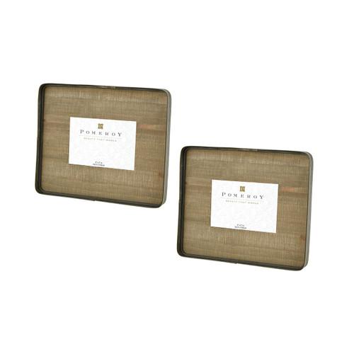 ELK 649271/S2 Pomeroy Cambridge Set of 2 5x7 Frames Brown
