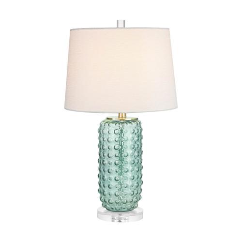 Caicos 1 Light Table Lamp Elk D2924 Green