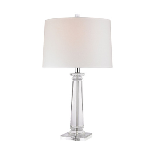 Classical Column Table Lamp Dimond lighting by ELK D2843 Clear Crystal
