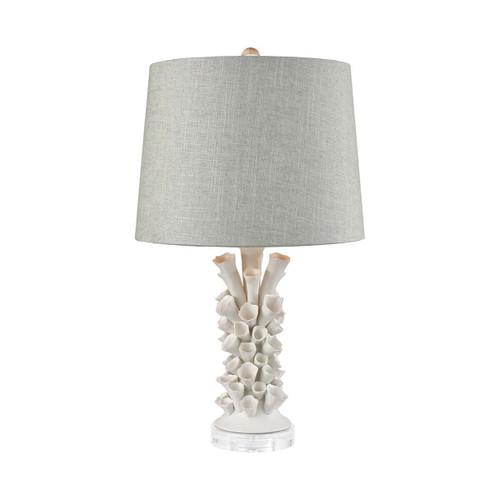 Cabo De Gata Table Lamp Elk D3497 Matte White