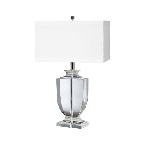 Crystal Rectangular Urn Table Lamp Dimond lighting by ELK 722 Clear