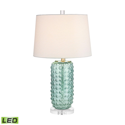 Caicos 1 Light LED Table Lamp  Elk D2924-LED Green
