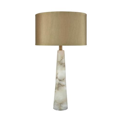 Champagne Float Table Lamp Elk D3475 Alabaster