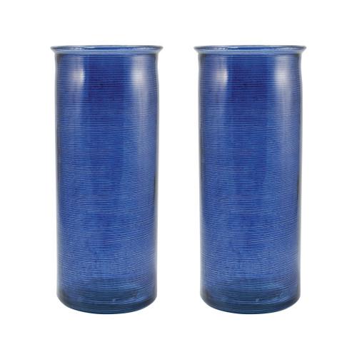 "ELK 311628/S2 Pomeroy Sonora Set of 2 Vases 13.75"" Karrusel Marina"