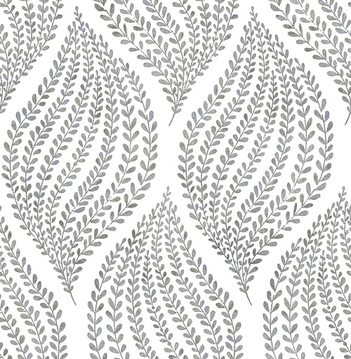 A-Street Prints by Brewster 2656-004062 Arboretum Fog Leaves Wallpaper