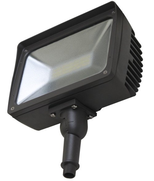 OLT 50W Flood LED Light Adjustable Leg 5000K Mate Glass