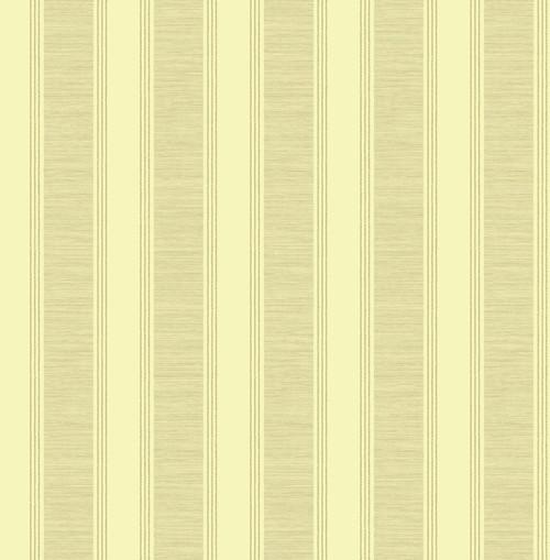 Satin Stripe Wallpaper in Gold Light RD80905 from Wallquest