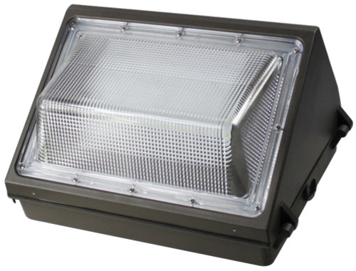 60W LED Wall Pack OLT 5000K Cool White Weatherproof Light Fixture For Outdoor, Area and Security Lighting