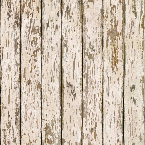 Chesapeake by Brewster BBC13282 Harley White Weathered Wood Wallpaper Wallpaper