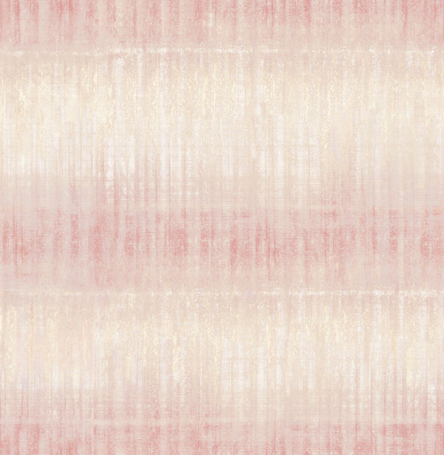 A-Street Prints by Brewster 2656-004049 Sanctuary Pink Ombre Stripe Wallpaper