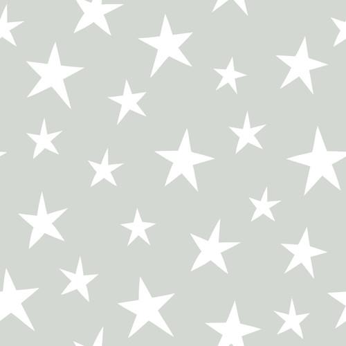 NuWallpaper by Brewster NU1932 Stardust Grey Peel & Stick Wallpaper