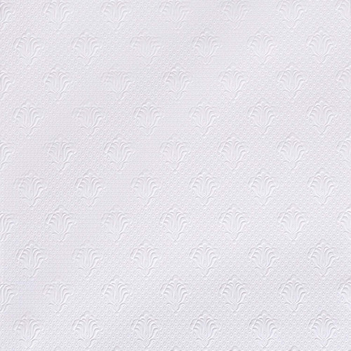 Brewster RD0669 Albert Paintable Supaglypta Wallpaper white