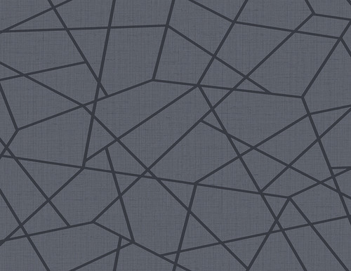 Kenneth James by Brewster 2765-BW40302 Geo Heath Blue Geometric Linen Wallpaper