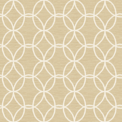 A-Street Prints by Brewster 2697-78041 Network Taupe Links Wallpaper